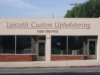 Store Front, Upholstery Services in Pasadena, CA